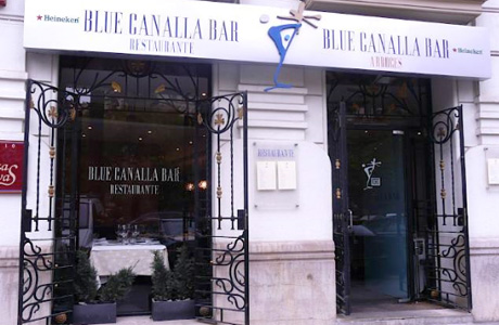 Blue Canalla Bar