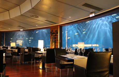 restaurante submarino