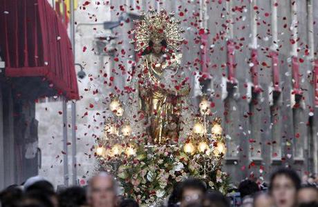 procesion virgen desamparados