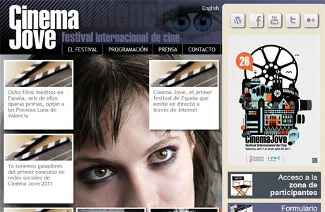 Cinema jove 2011 en internet love valencia - Internet en valencia ...