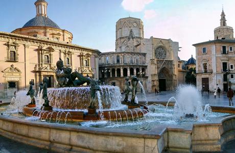 Plaza Virgen de Valencia