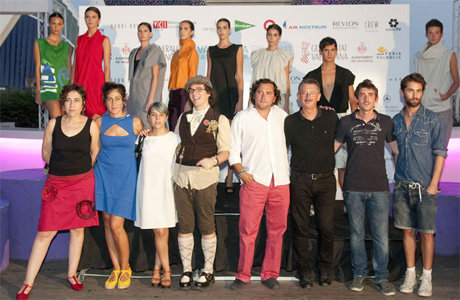 diseñadores valencia fashion week