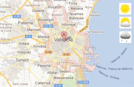el tiempo en valencia: