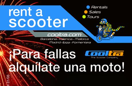 cooltra alquiler moto fallas
