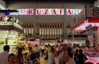 Interior del Mercado de Ruzafa