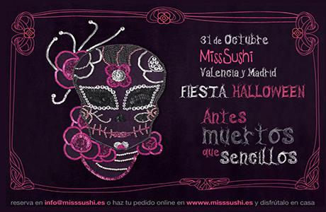 Fiesta Halloween en Miss Sushi Cánovas