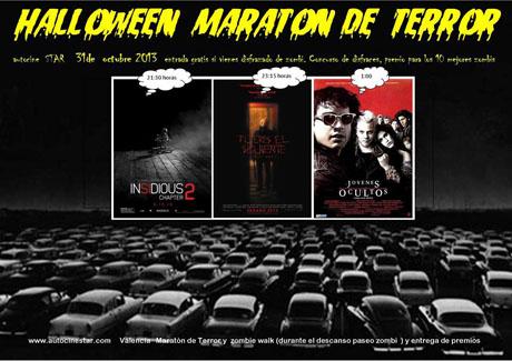 Maratón de Terror en el Autocine Star de Valencia