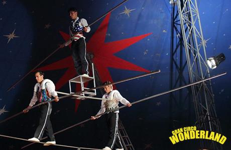 Gran Circo Wonderland Valencia 2013
