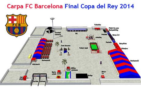 arpa FC Barcelona Final Copa del Rey 2014