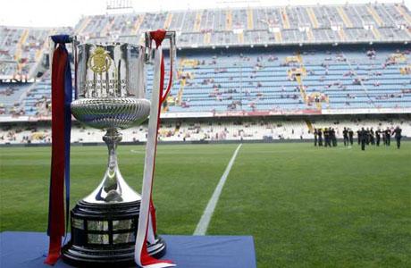 del 11 al 16 de abril estará expuesto el trofeo de la Copa del Rey