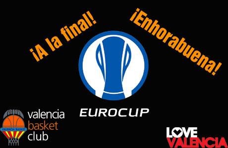 Valencia Basket a la Final de la Eurocup 2014