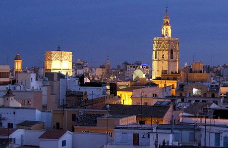 Salir por zonas de Valencia
