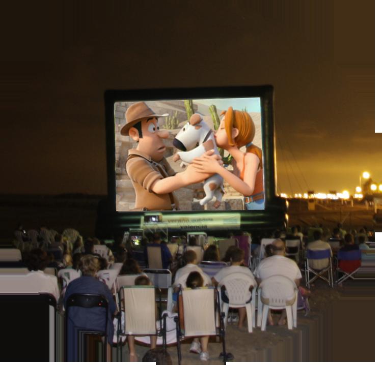 cines de verano en playas de valencia