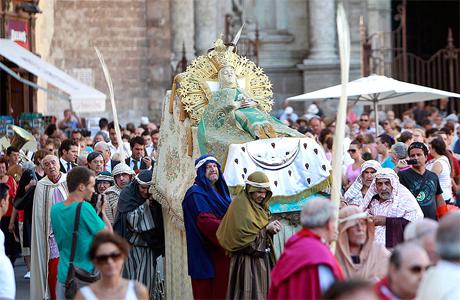 Festividad Virgen Asunción Valencia