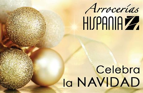 Celebra la Navidad en Arrocerías Hispania