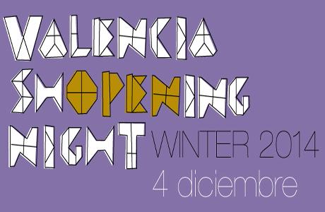 Valencia Shopening Night Winter