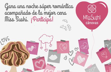 Concurso San Valentín Miss Sushi Cánovas