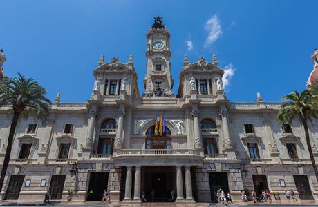 Visita el Ayuntamiento de Valencia