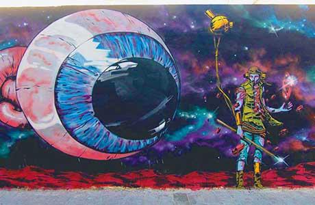 Ruta de Street art en valencia