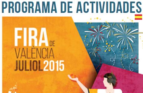 PROGRAMA DE ACTIVIDADES FERIA DE JULIO 2015