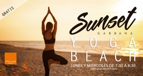 Sunset Yoga Gabana Beach