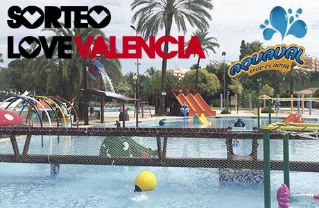 Sorteo Love Valencia Aquaval Piscina Parque de Benicalap