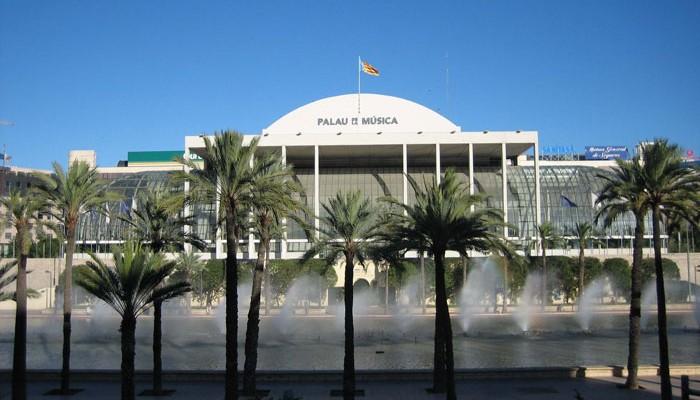 Conciertos del 9 d´octubre en el palau de la música de Valencia