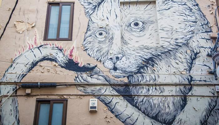Arte urbano en valencia love valencia for Murales de fotos para pared