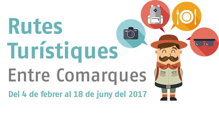 Rutas turisticas Entre comarcas 2017