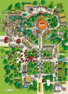 Mapa Palo Market Fest