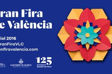 Cartel Feria de Julio de Valencia 2016