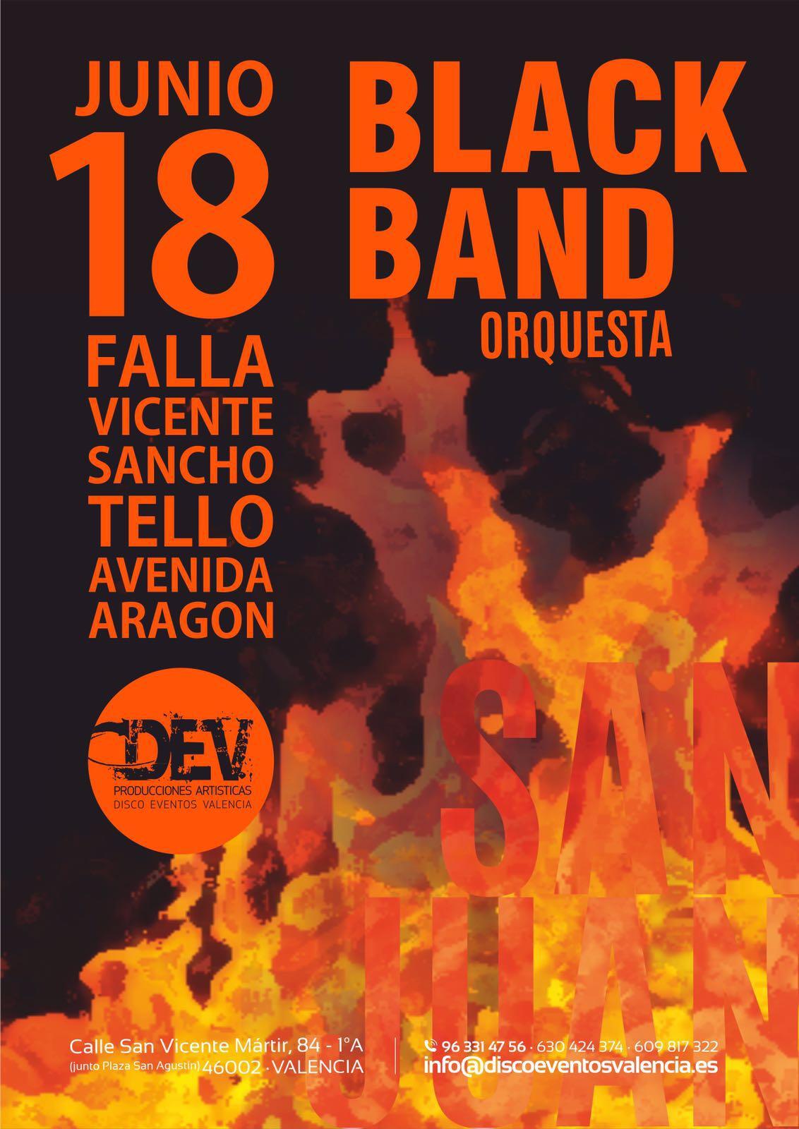 orquesta black band falla sancho tello