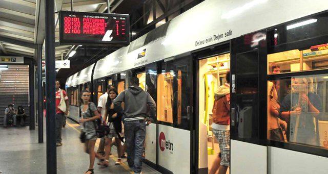 Servicios Metrovalencia para la Gran Nit de Juliol