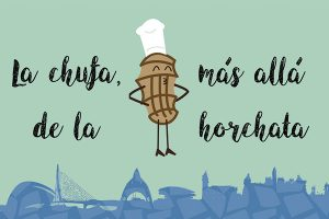 platos con horchata
