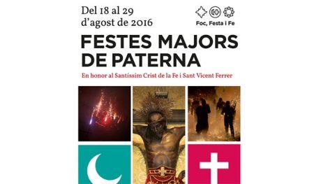 FIESTAS MAYORES PATERNA 2016