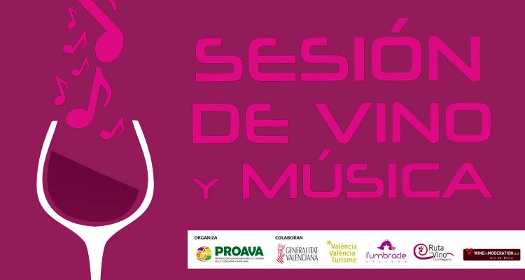 vinos valenciano y musica en umbracle