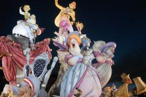 la storia della festa de las fallas, Valencia