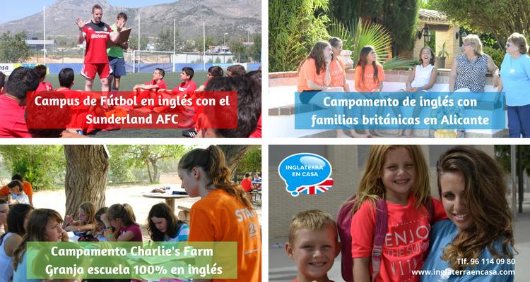 Campamentos de inglés en verano Valencia