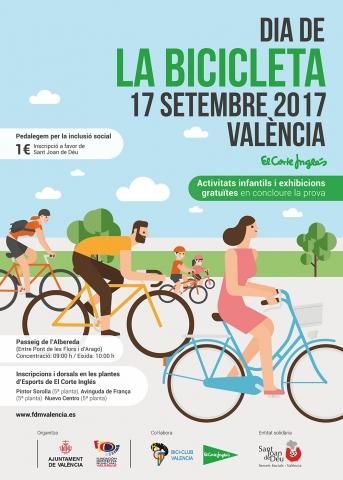 Fiesta de la bici en Valencia