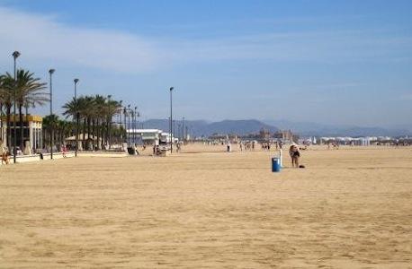 Valencia y sus playas love valencia - Hoteles en la playa de la malvarrosa ...