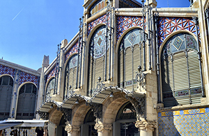 central market in valencia