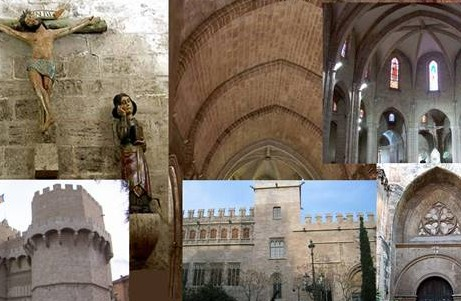 gothic architecture tour in valencia