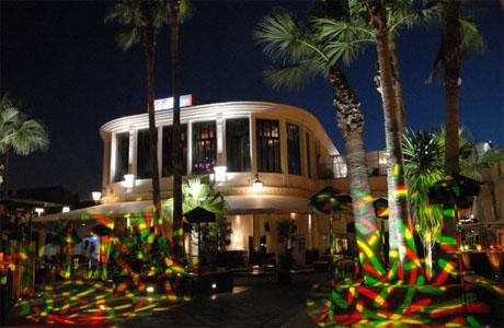nightclub in valencia in summer