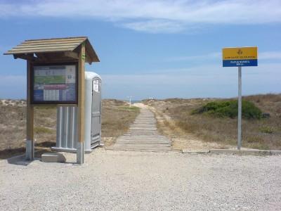 Nudist Zone Davesa del Saler Beach