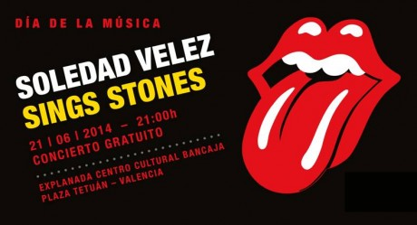 SOLEDAD VELEZ SINGS STONES - INVITACION