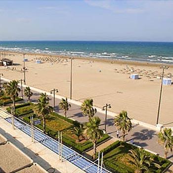 Playa de la malvarrosa love valencia - Hoteles en la playa de la malvarrosa ...