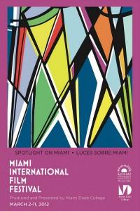 Cartel de Javier Mariscal para el Festival de Cine Internacional de Miami 2012
