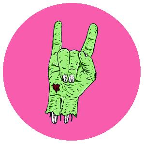 fiestas zombies