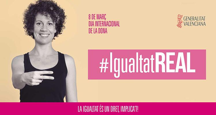 Día de la mujer en Valencia