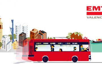 EMT Valencia Líneas y planos de autobús en Valencia